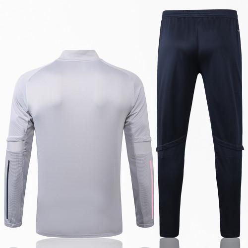 Juventus Training Jacket Suit 20/21 Light grey