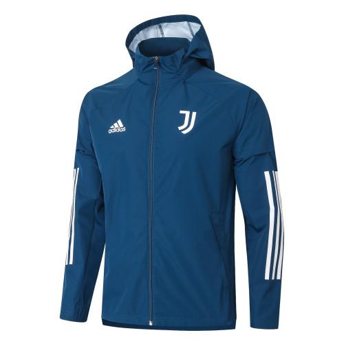 Juventus Training Windbreaker 20/21 Blue