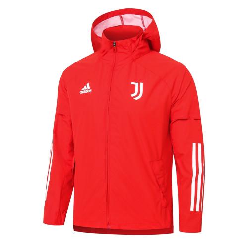 Juventus Training Windbreaker 20/21 Red