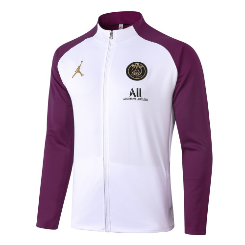 Paris Saint Germain Training Jacket 20/21 White