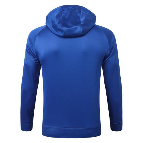 Paris Saint Germain Training Hoodie 20/21 Blue