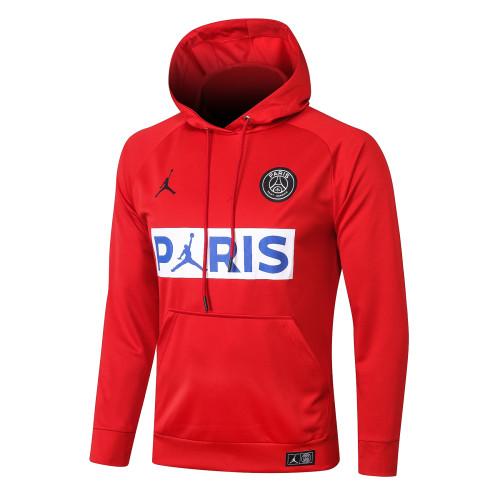 Paris Saint Germain Training Hoodie 20/21 Red