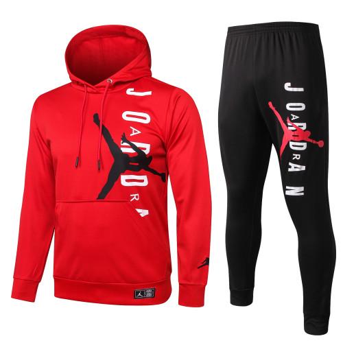 Paris Saint Germain Training Hoodie Suit 20/21 Red