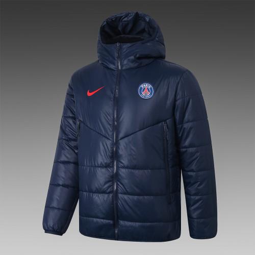 Paris Saint Germain Down Cotton Jacket 20/21 Blue