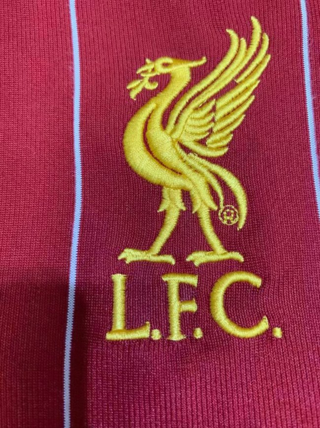 Liverpool Home #11 M.Salah Jersey 19/20