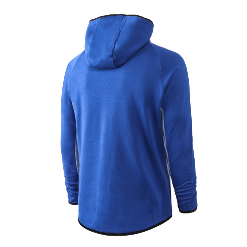 Nike Cotton Jacket Suit Blue