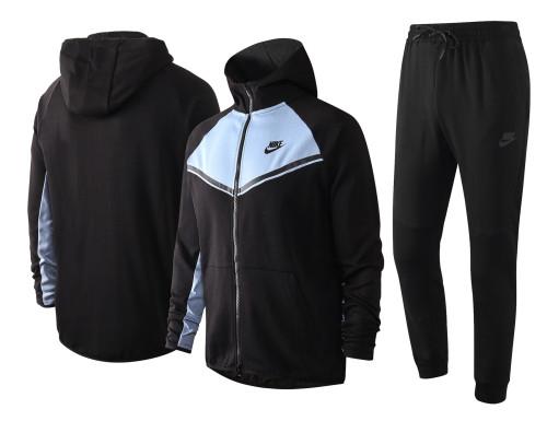 Nike Cotton Jacket Suit Black