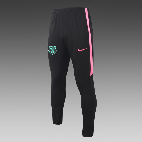 Barcelona Training Pants 20/21 Pink-Green Side