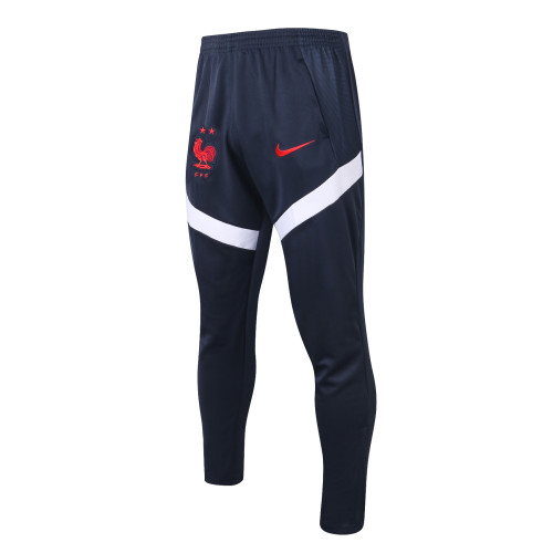 France Training Pants 20/21 Royal Blue-01