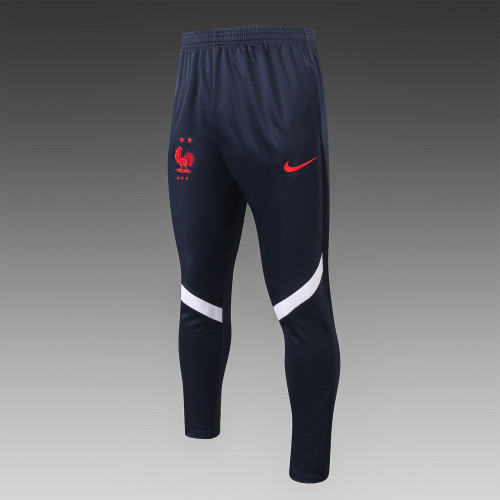France Training Pants 20/21 Royal Blue-02