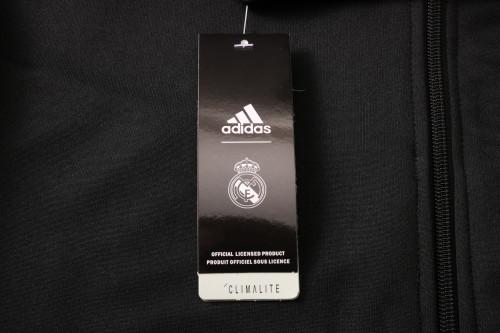 Real Madrid Kids Training Jacket Suit 20/21 Black