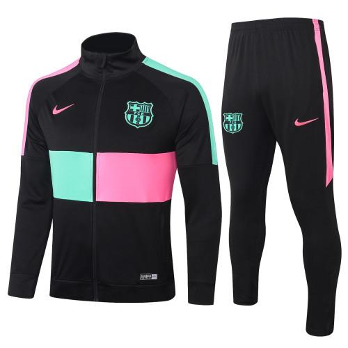 Barcelona Kids Training Jacket Suit 20/21 Black
