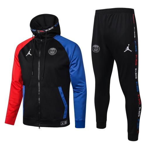 Paris Saint Germain Kids Training Jacket Suit 20/21 Black