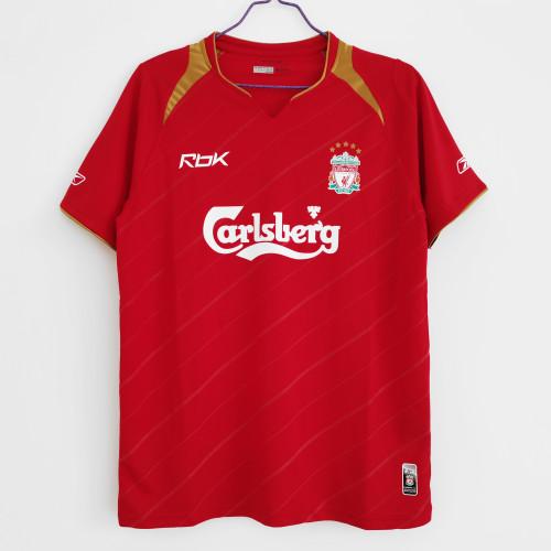 Liverpool Home Retro Jersey 05/06