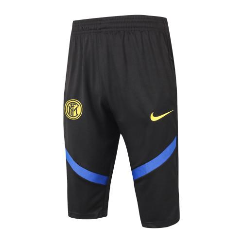 Inter Milan Training Capri Pants 20/21 Black
