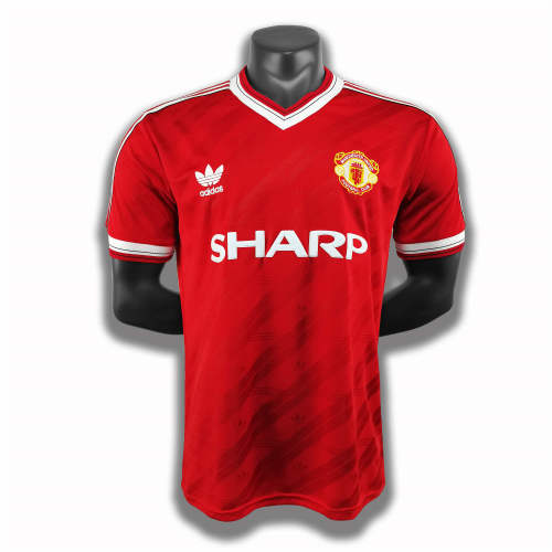 Manchester United Home Retro Jersey 1986