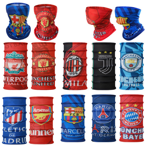 Football Club Fans Neck Masks