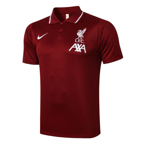 Liverpool POLO Jersey 20/21 Red