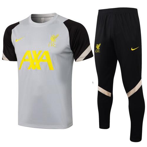 Liverpool Training Jersey 21/22 Gray