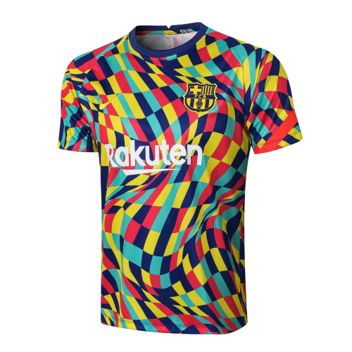 Barcelona Training Jersey 21/22 Multi-Colored