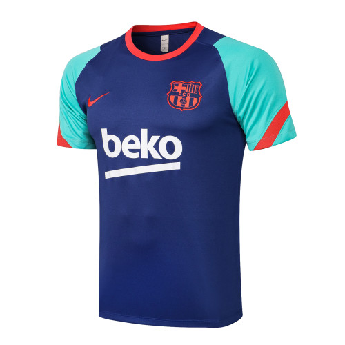 Barcelona Training Jersey 21/22 Blue