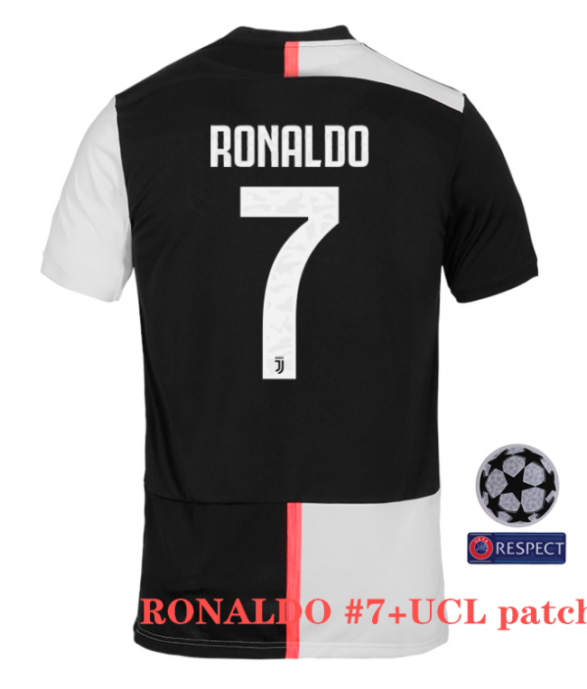 Juventus Home #7 Ronaldo Jersey 19/20