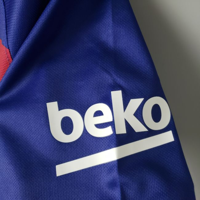 Barcelona Home #10 Messi Jersey 1920