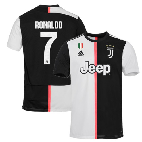 Juventus Home #7 Ronaldo Jersey 19/20 Tops