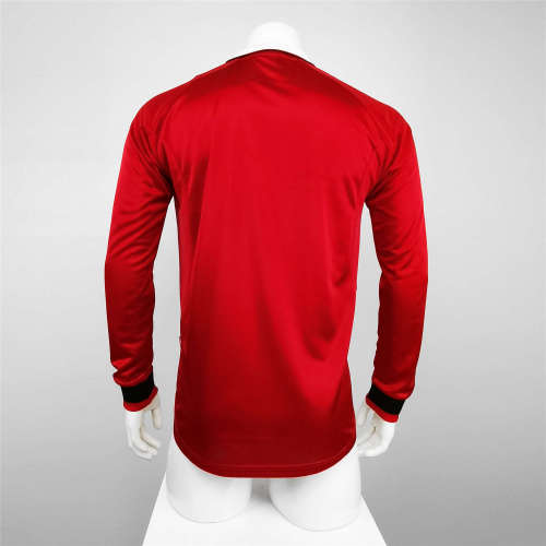 Manchester United Home  Long Sleeve Retro Jersey 99/00
