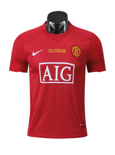 Manchester United Home Retro Jersey 07/08