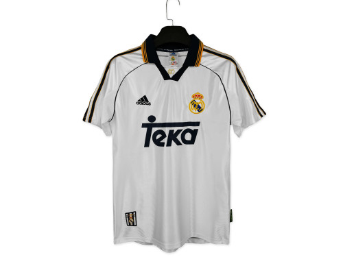 Real Madrid Home Retro Jersey 98/00