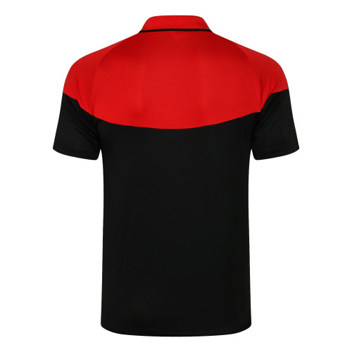 Liverpool POLO Jersey 21/22 Black Red