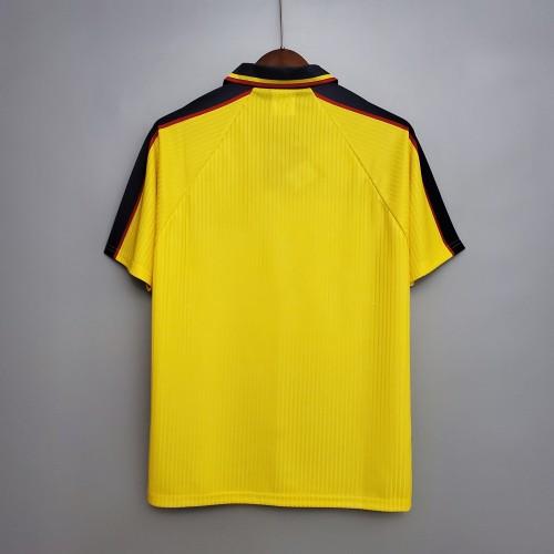 Scotland yellow Retro Jersey 96/98