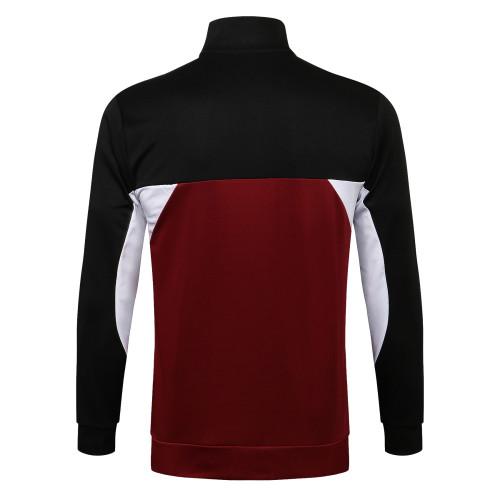Paris Saint Germain Training Jacket 21/22 Black-Red