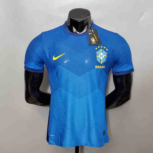Brazil Away Player Version Man Jersey 20/21
