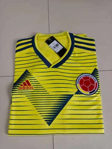 Colombia Home Jersey 19/20 Tops