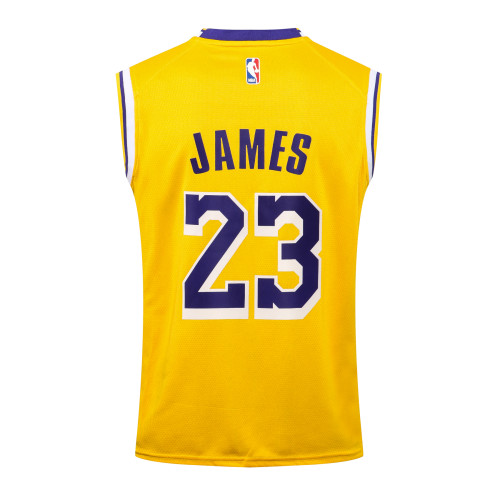LeBron James Los Angeles Lakers 2020/21 Swingman Jersey - Yellow