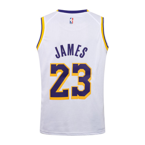 LeBron James Los Angeles Lakers 2020/21 Swingman Jersey - White