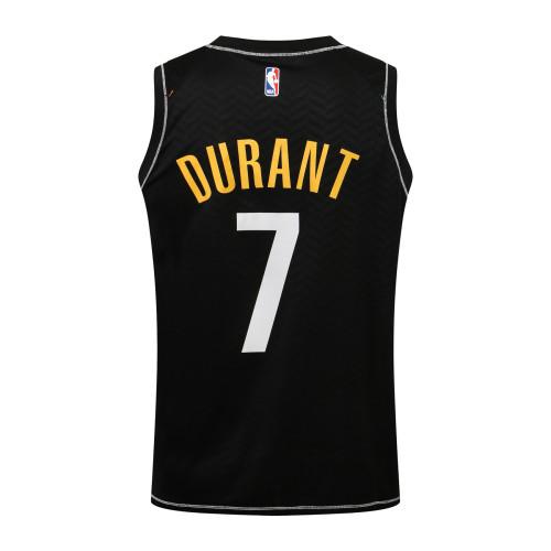 Kevin Durant Brooklyn Nets 2020/21 Swingman Jersey - Black