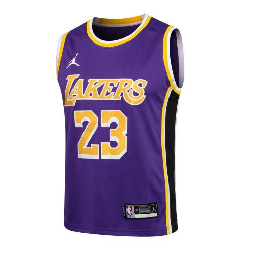 LeBron James Los Angeles Lakers Jordan 2020/21 Swingman Jersey - Purple