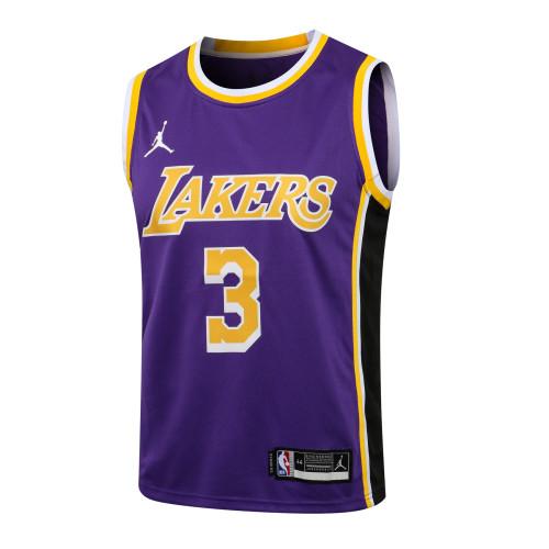 Anthony Davis Los Angeles Lakers Jordan 2020/21 Swingman Jersey - Purple