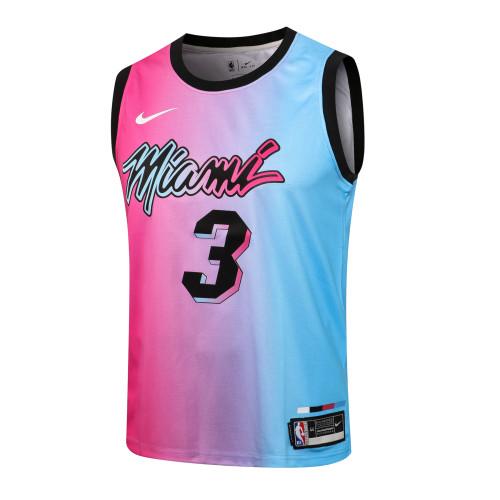 Dwyane Wade Miami Heat 2020/21 Swingman Jersey