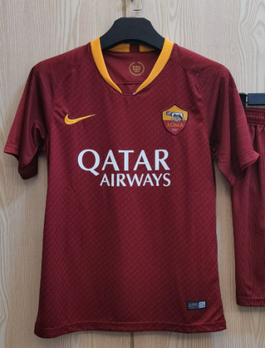 AS Roma Home Man Jersey 18/19 Tops