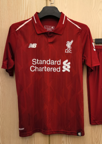 Liverpool Home Man Jersey 18/19 Tops