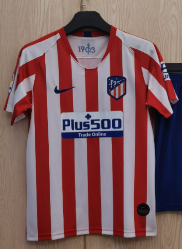 Atletico Madrid Home Man Jersey 19/20 Tops