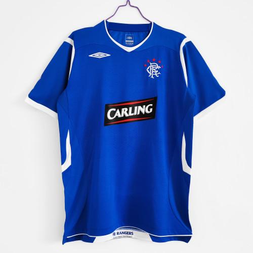 Rangers Home Retro Jersey 2008/09