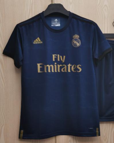 Real Madrid Away #7 HAZARD  #10 MODRIC Jersey 19/20 Tops