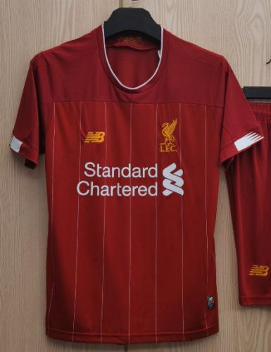 Liverpool Home 10# MANÉ #9 FIRMINO #4 VIRGIL Jersey 19/20 Tops