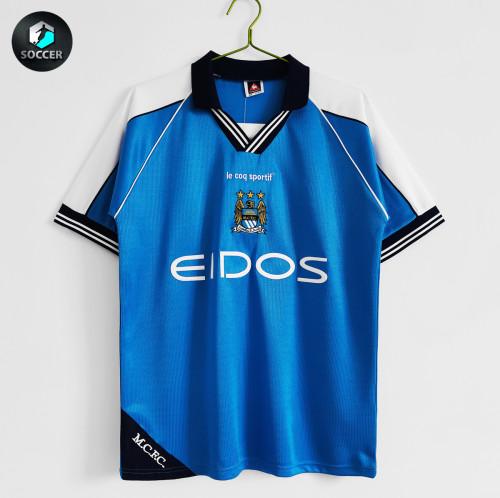 Manchester City Home Retro Jersey 1999-2001