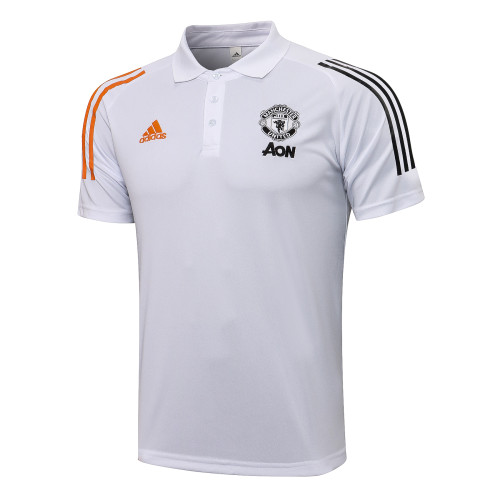Manchester United POLO Jersey 21/22 White